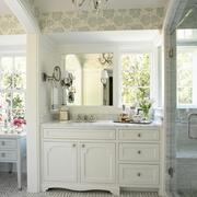 欧式风格卫生间浴室柜装饰