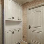 欧式风格整体式鞋柜装饰