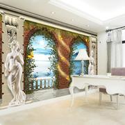 欧式奢华雕塑电视背景墙装饰