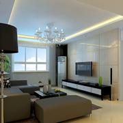 客厅简约风格背景墙装饰