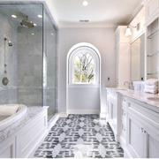 欧式风格奢华卫生间墙饰装饰