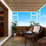 简约风格客厅吊顶设计