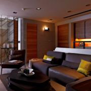 后现代风格交互空间客厅沙发装饰