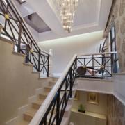 欧式风格楼梯装饰效果图