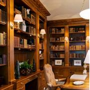 欧式风格复古书房装饰