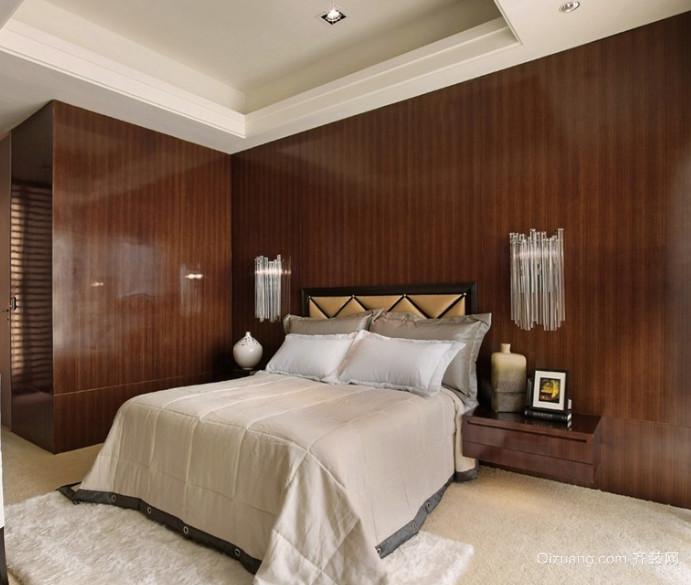 50平米精致美式卧室装修效果图