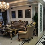 复古典雅的客厅设计