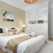 现代化简约风格卧室床头背景墙装饰