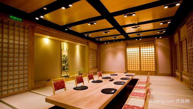 日式饭店装修效果图