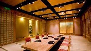 日式饭店包厢榻榻米