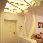 现代风格客厅玄关吊顶装饰