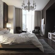 北欧风格卧室吊顶装饰