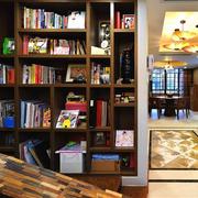 东南亚简约书房装饰效果图