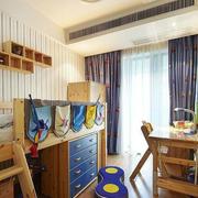 儿童卧室实木床欣赏