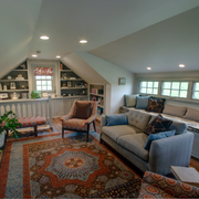 斜顶阁楼舒适地毯