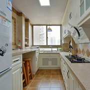 地中海简约厨房橱柜装饰