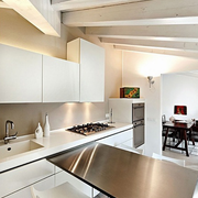 后现代风格厨房吊顶装饰