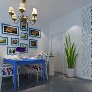 地中海餐厅照片墙装饰
