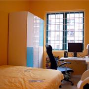 现代简约风格卧室墙饰装饰