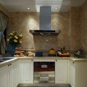 法式U型厨房设计