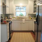 欧式简约厨房吧台装饰