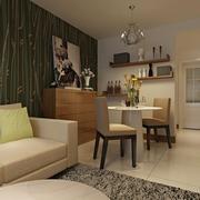 两室一厅简约风格二人餐厅装饰