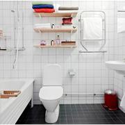 北欧简约卫生间置物架装饰