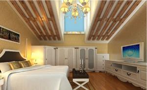 斜顶阁楼卧室展示