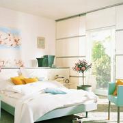 韩式清新风格房间效果图