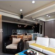 现代简约风格客厅简约吊顶装饰