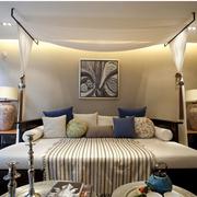 东南亚简约风格卧室装饰