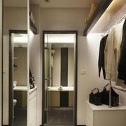 90平米后现代风格衣柜装饰