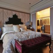 俊秀时尚的卧室