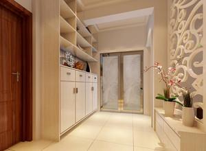 现代简约风格客厅玄关隔断装饰