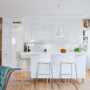 北欧风格厨房简约风格窗户装饰