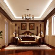 东南亚风格卧室墙纸装饰