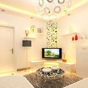 现代简约风格小户型客厅创意灯饰装饰
