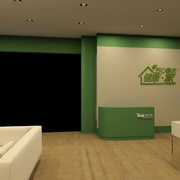 清新简约的客厅装潢