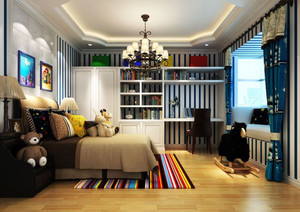 欧式风格卧室壁纸装饰
