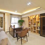 欧式朴素风格整体书房装饰