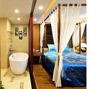 东南亚卧室背景墙装饰