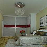现代简约风格卧室推拉门装饰