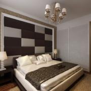 欧式卧室软包背景墙装饰