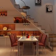 别墅楼梯置物柜欣赏
