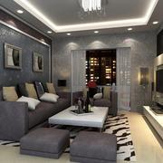 现代简约风格客厅沙发设计