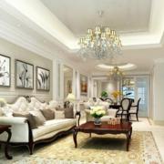 精致大户型客厅家具