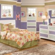 儿童房整体衣柜装饰图