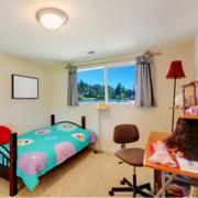 儿童房卧室简约吊顶