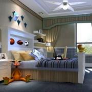 儿童房舒适大卧室