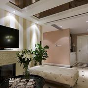 现代化简约风格客厅电视背景墙装饰